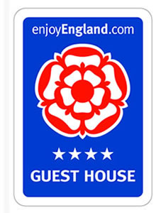 Visit Britan Enjoy England 4 Star Rated Guest House B&B Accommodation