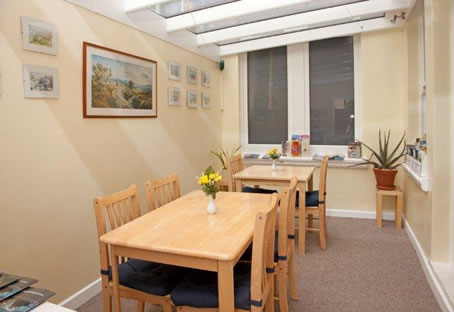 B&B Dining Area The Meltham Guestouse Scarborough
